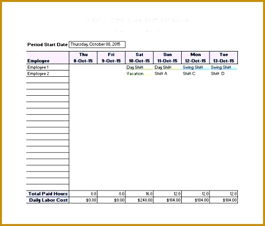 Work Plan Template Excel Free Monthly Employee Shift Schedule Template Employee Schedule Template Excel Monthly Employee Work Schedule Template Excel Free 465544