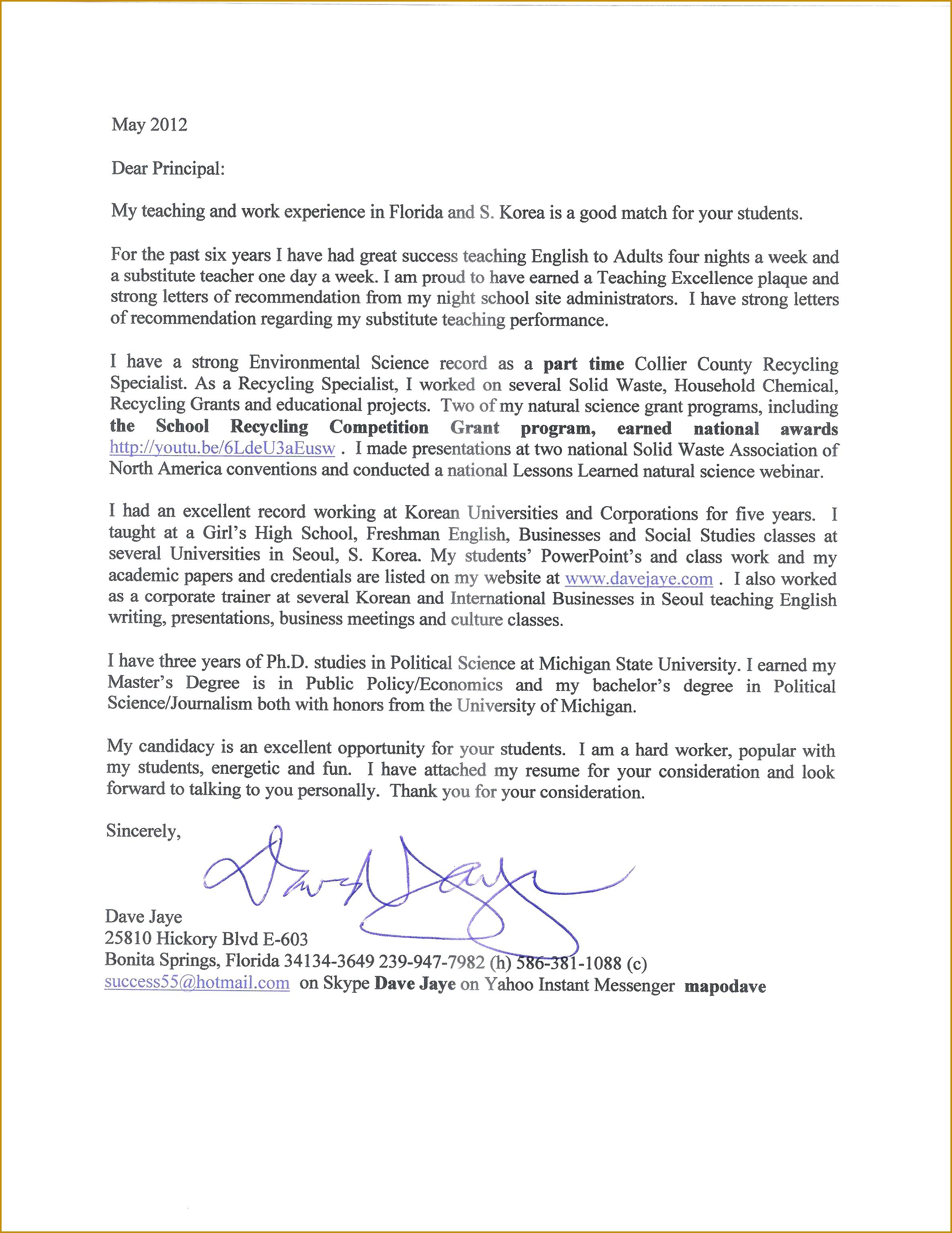 Cover Letter for Teacher assistant Preschool Luxury Cover Letter for assistant Principal 30692371
