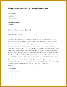 Thank you Letter To Dental Assistant DOWNLOAD at thank you letter to dental assistant 279216