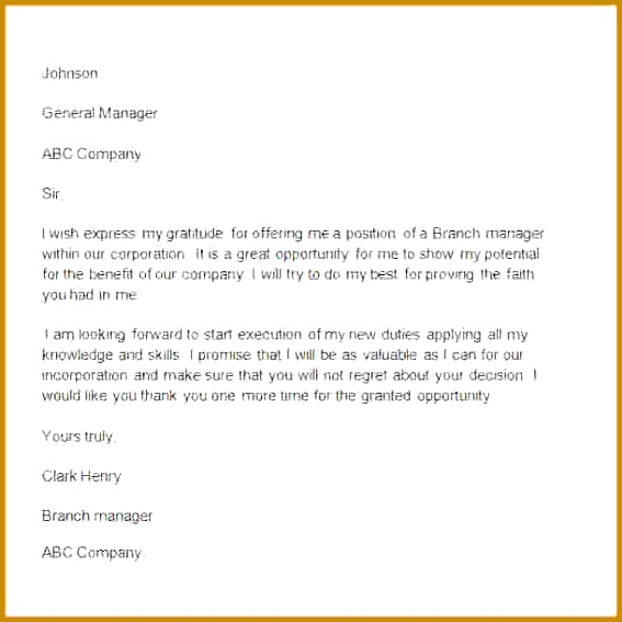 Sample Thank You Letter to Boss 11 Free Documents Download in Word 567567
