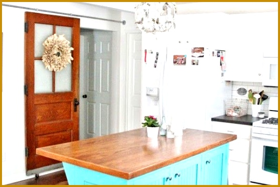 Barn door in Flower Patch Farmgirl s house photos by The Lettered Cottage 372558