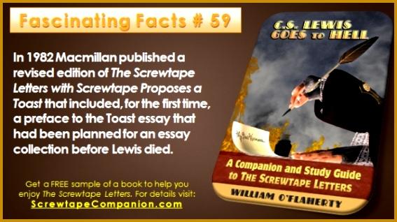Screwtape Proposes A toast Summary Beautiful Archives 45 New Screwtape Proposes A toast Summary 318567