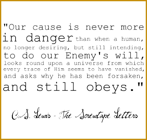 """C S Lewis """"The Screwtape Letters"""" Since the Screwtape Letters are suppose to 459481"""
