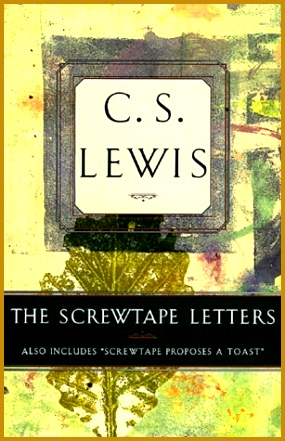 Screwtape Proposes A toast Summary New the Screwtape Letters Book Cover Old Dolapgnetband 45 New 441285