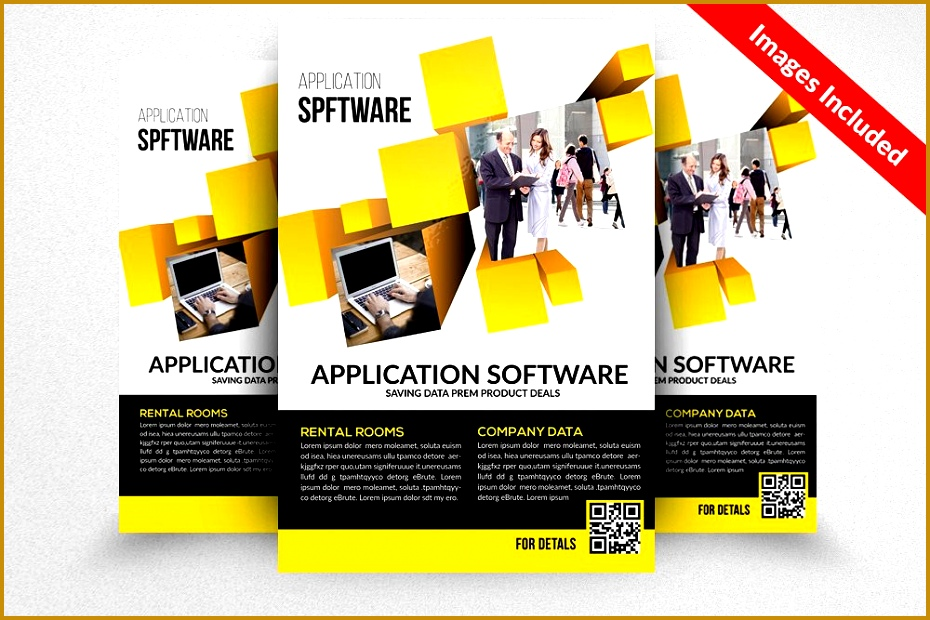 4 Tri Fold Brochure for Word