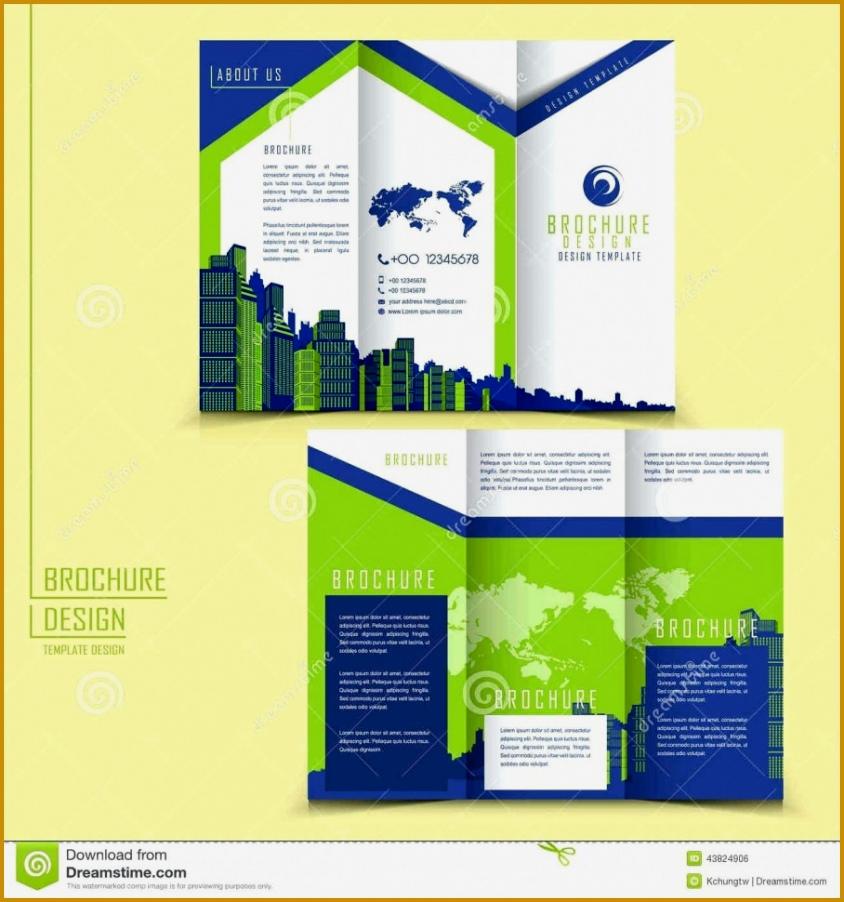 New Tri Fold Brochure Word Template 902844
