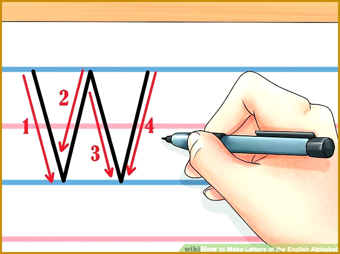 Image titled Make Letters of the English Alphabet Step 24 507677