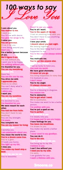 100 ways to say I Love You Always express your emotions 587219
