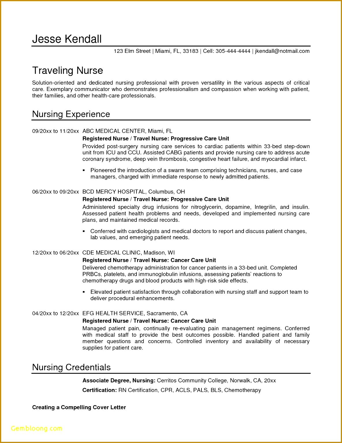 Resume format for Nursing Inspirational Registered Nurse Resume S I Pinimg 736x 8d 0d D8 15341185