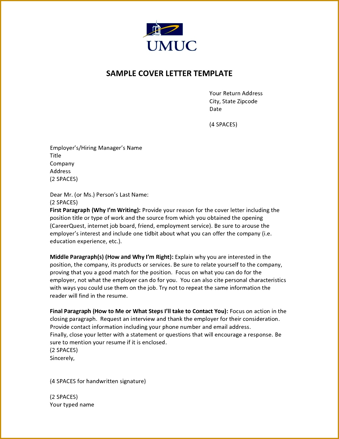 7 what should a cover letter say 85760