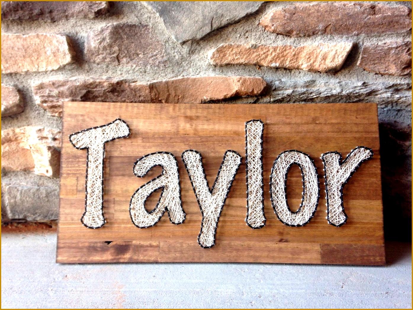 Custom Name Board Order String art sign nursery decoration baby t home decor Rustic woodland birthday 13951046