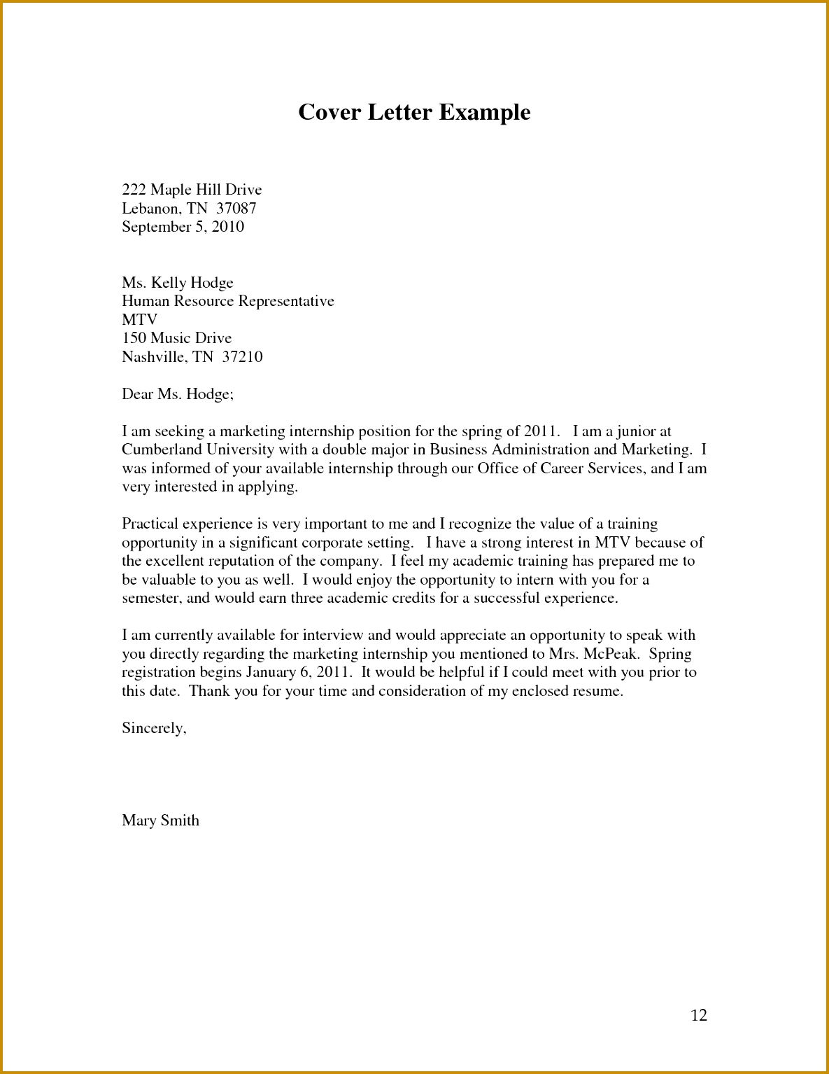Cover Letters and Resumes Inspirational Cover Letter Examples for Internship Beautiful Job Letter 0d 15341185