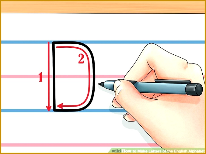 Image titled Make Letters of the English Alphabet Step 5 507677