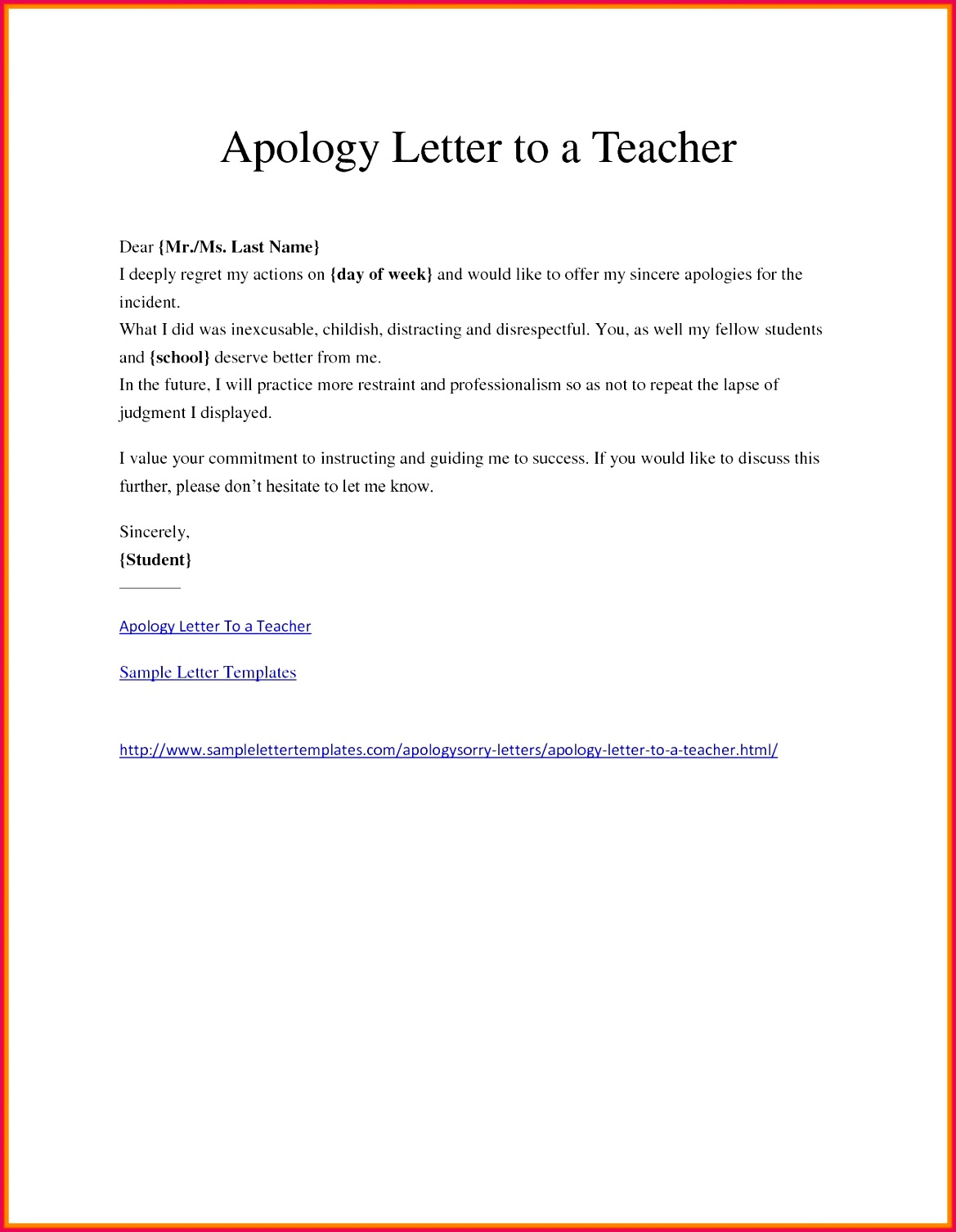 Customer Service Apology Letter New Template for Apology Letter Valid sincere Apology Letter Full See
