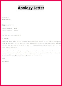 Professional Apology Letter Free sample letters of apology for personal and professional situations Also