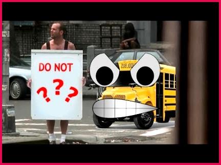 Die Hard 3 I hate sign