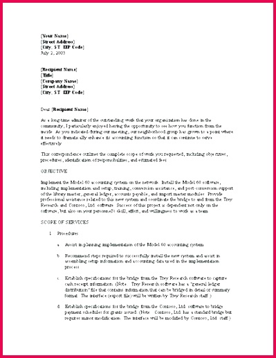 business opportunity letter sample of proposal for template cover samples