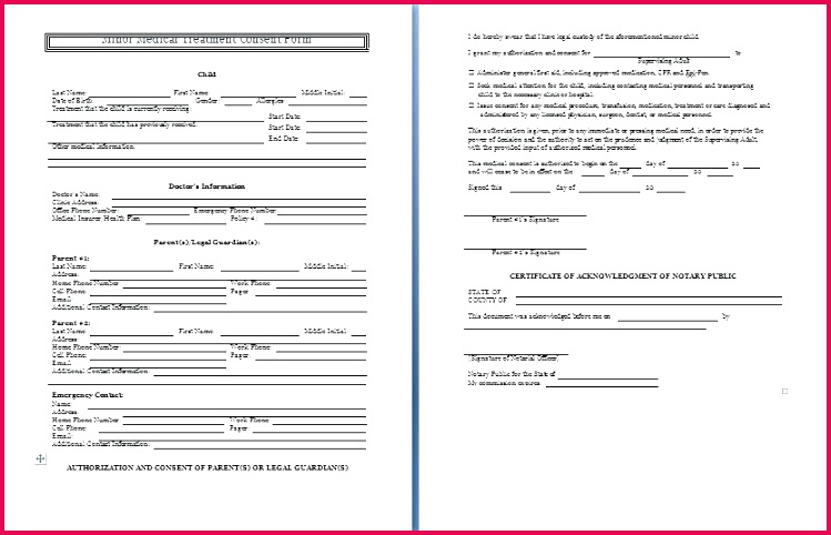 medical consent form template treatment consent form best sample medical consent form of treatment consent form
