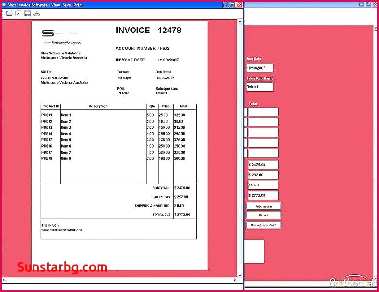 Handyman Invoice Template Word – millbayventures