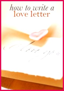 "Simple solutions to love letters Writer s Block Hallmark writer Keely Chace helps you say ""I love you"""
