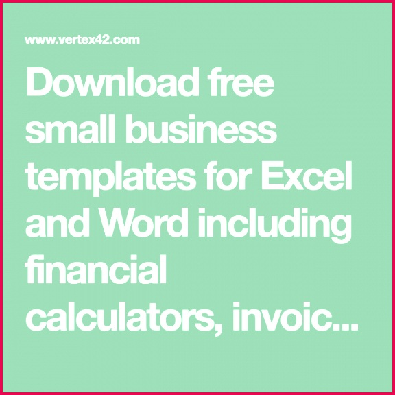 excel financial calculators