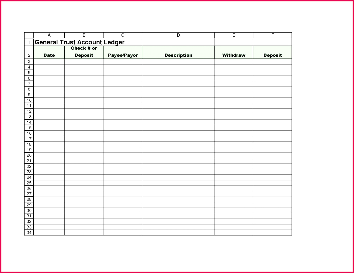Small Business Accounting Excel Template the Best Way to Write Business Ledger Template Excel Free Excel