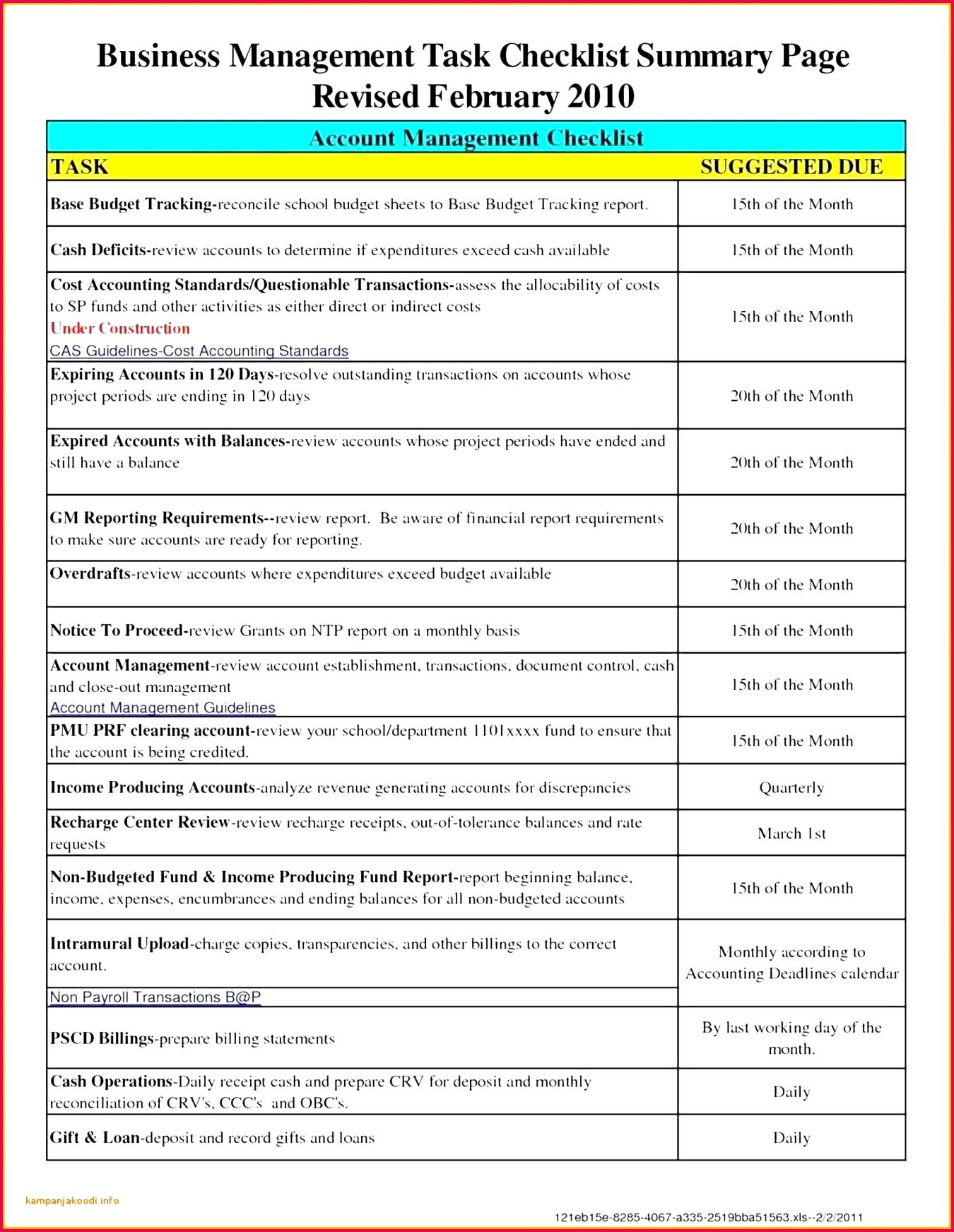 39 Sample Spreadsheet for Small Business