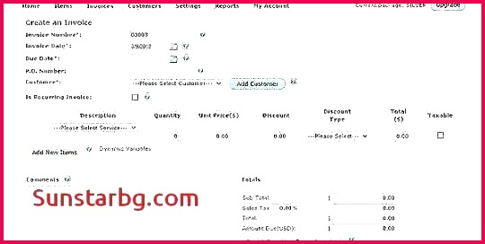 Excel Bill Template New Puter Sales Receipt Template Free for Small Business Provides You