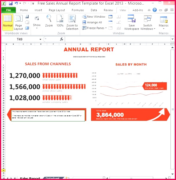 Excel Report Templates Free
