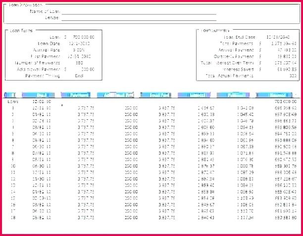 4 amortization schedule excel download 47837