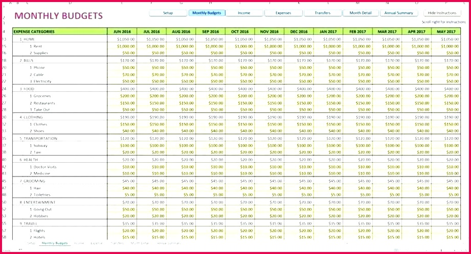 Microsoft Excel Accounting Templates