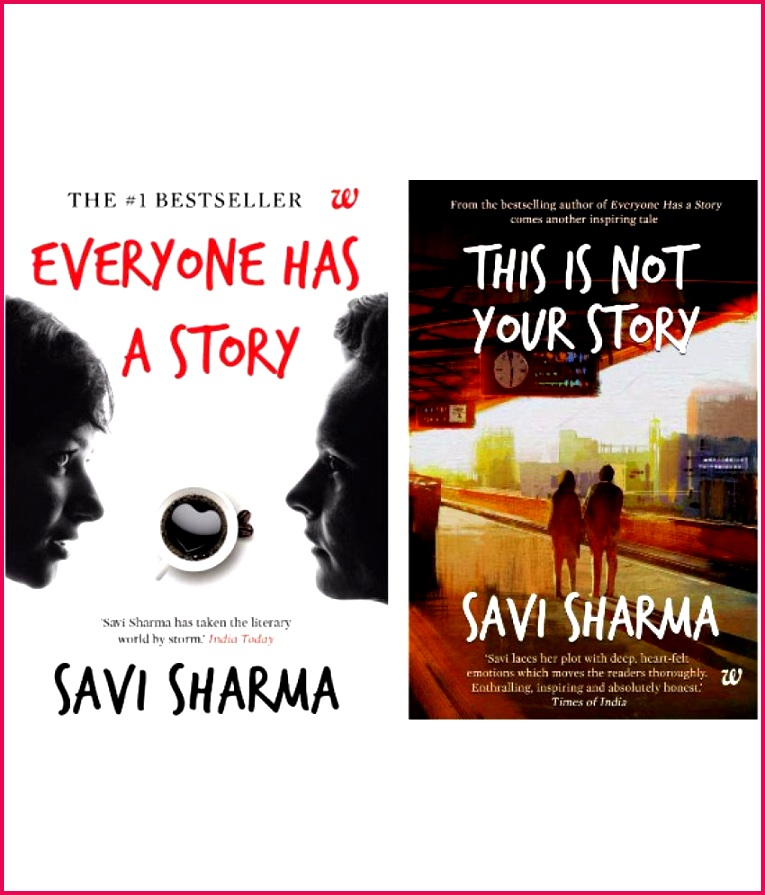 Savi Sharma bo Pack This Is Not Your Story & Everyone Has A Story In English