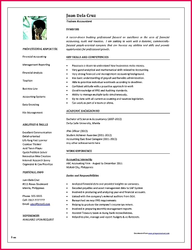 0d Best Free Resume Resume Samples Free Awesome Free Template Resume Sample Resume In Word format