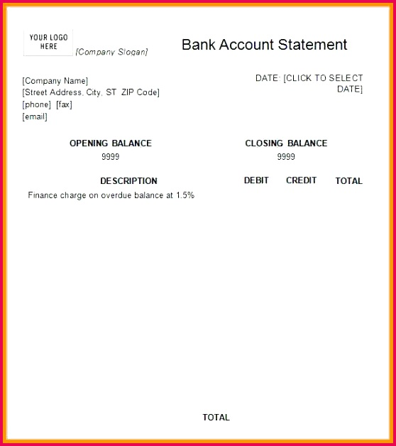 fake bank statement image template create 6