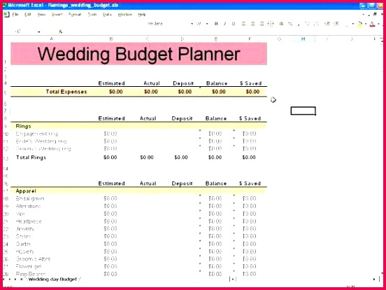 wedding bud spreadsheet i on template planner excel templates planning sheet