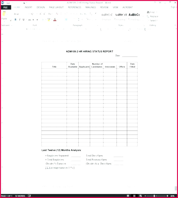 employee performance report example staff productivity free templates weekly template excel