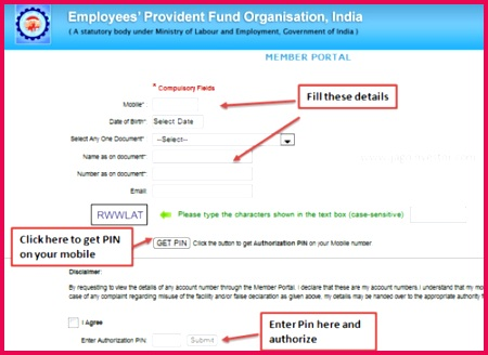 Employees Provident Fund PF