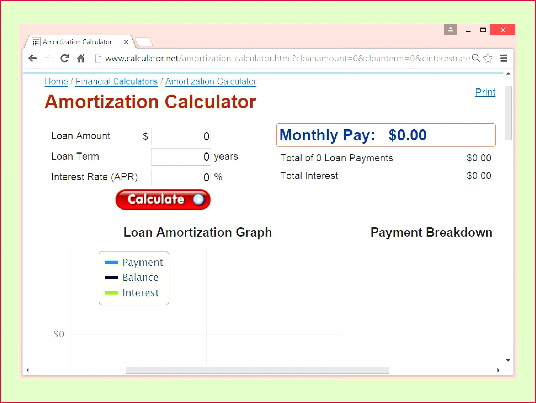 Auto Loan Amortization Schedule Excel Template Lovely Car Loan Amortization Schedule Excel Fresh Car Loan Excel