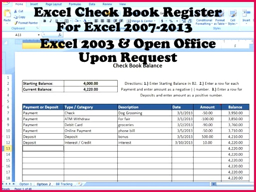 This template is designed to help you with balancing your checkbook It works very similar to the old fashion way of balancing a checkbook