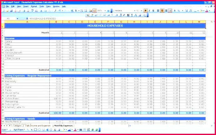In e Statement Excel Template In E Statement forecasting Excel Beautiful Projected In E