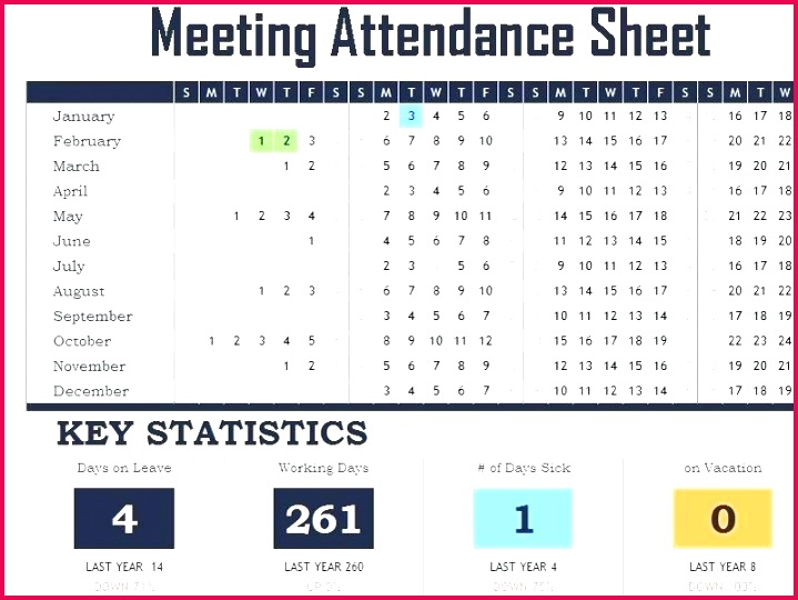 Meeting Attendance Register Template Excel Employee Tracker Via Free Templates For Powerpoint Download