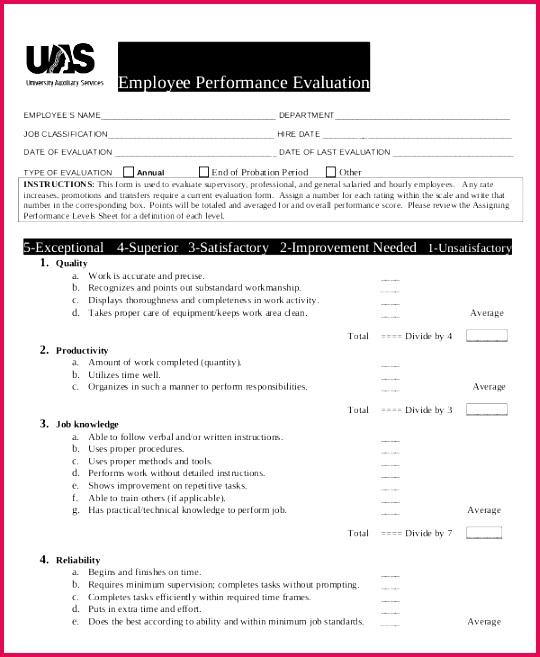 sample job performance reviews Incepagine ex