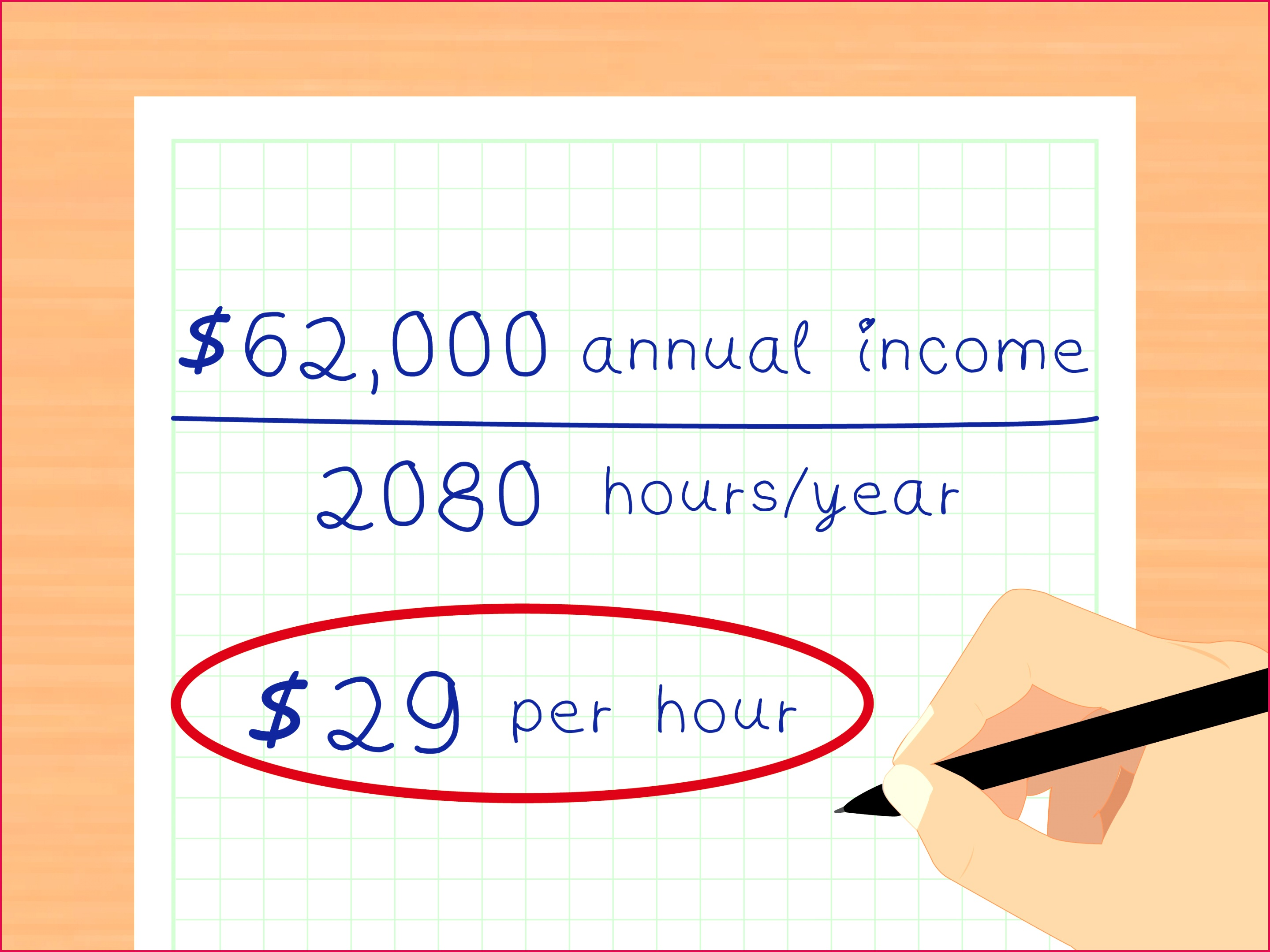 Calculate Your Real Hourly Wage Step 13
