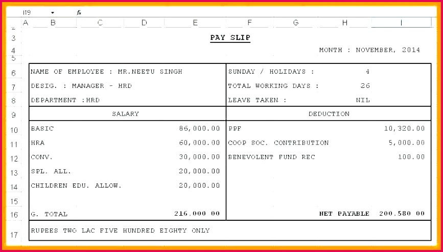 8 free salary payslip template excel shrewd investment wage slips word document doc