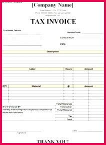 tax invoice template Freelance Invoice Template Printable Invoice Invoice Format In Excel Invoice