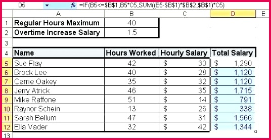 overtime calculator excel template software to calculate hours worked formula minus lunch spreadshee