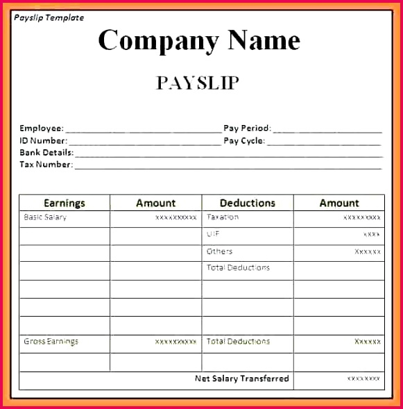 Tax Deduction Spreadsheet Template Excel New Salary Sheet Template In Excel format Download Balance Spreadsheet