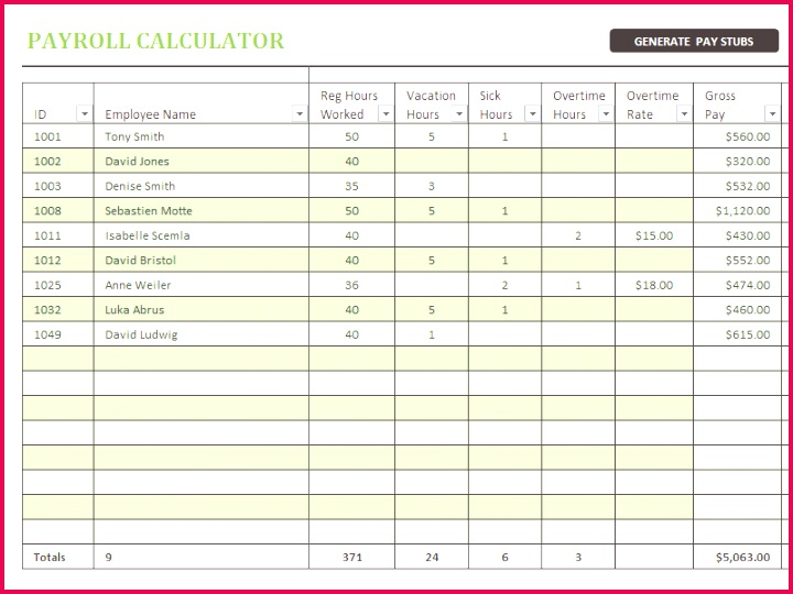 Payroll Analysis Spreadsheet How To Create An Excel Spreadsheet Scan To Spreadsheet