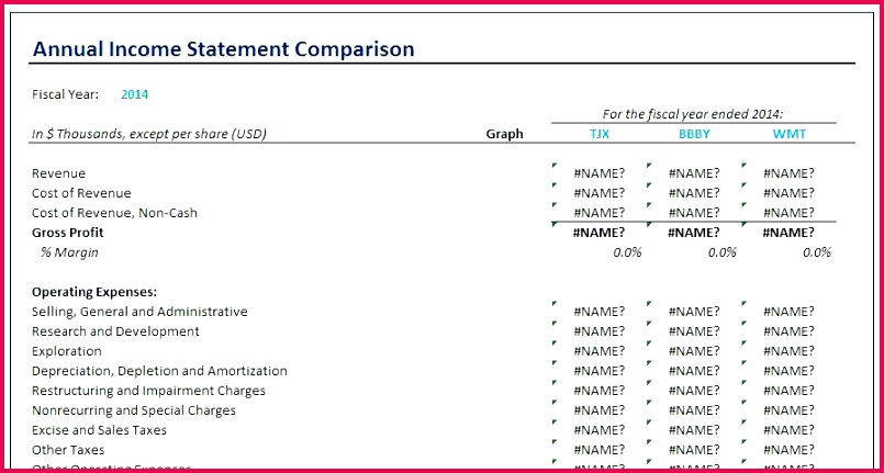 free excel in e statement template quarterly balance sheet example financial exc overview in e statement