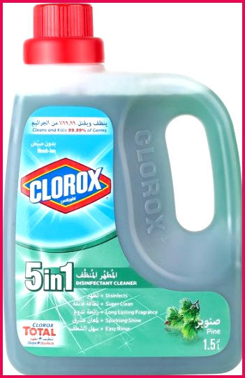 Clorox 5 in 1 Disinfectant Pine Cleaner 1 5 ltr